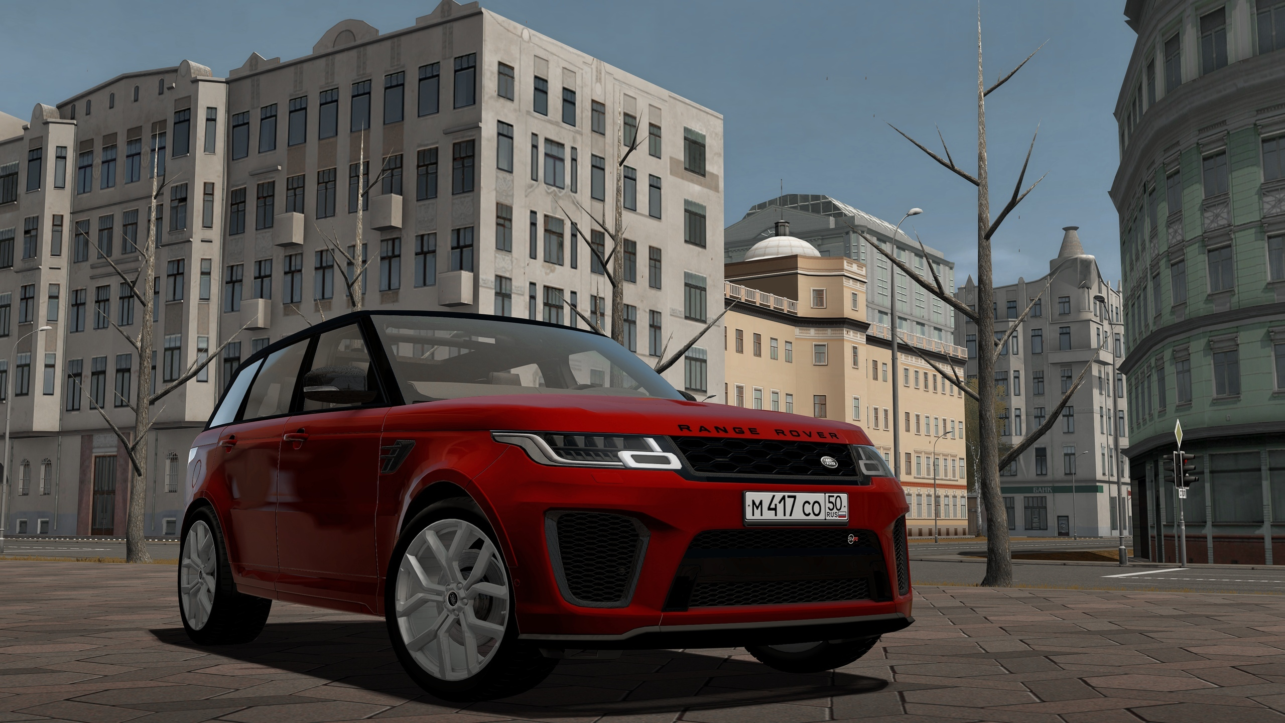 City Car Driving 1.5.8 - Range Rover Sport SVR 2018