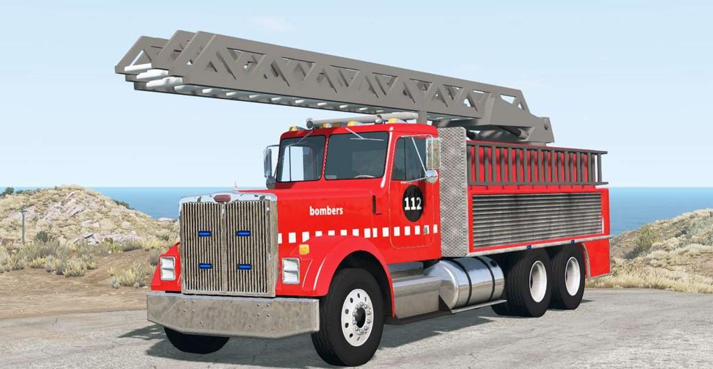 BeamNG - Gavril T-Series Fire Truck V1.1