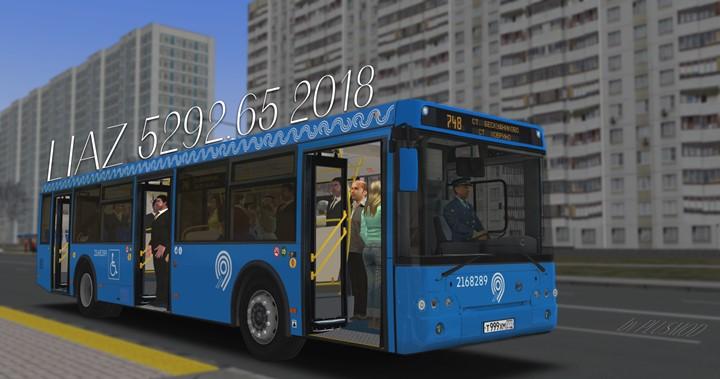 Omsi 2 - LiAZ 5292.65 2018 Bus Mod