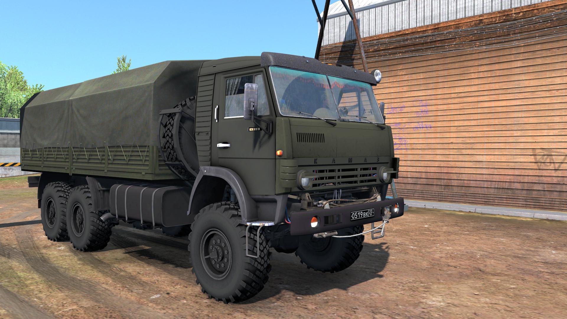 ETS2 - Kamaz 4310 Truck V1.0 (1.36.x)