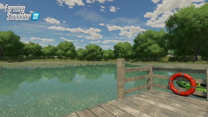 New US Map for FS22
