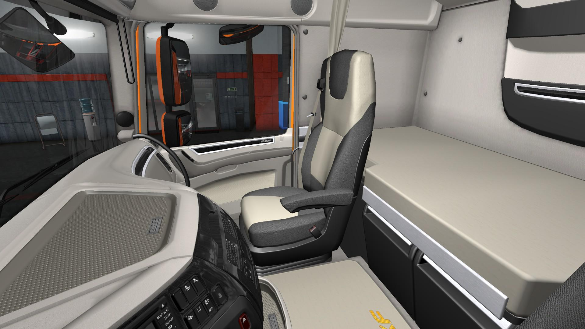 ETS2 - Daf E6 Lux Interior (1.35.X)
