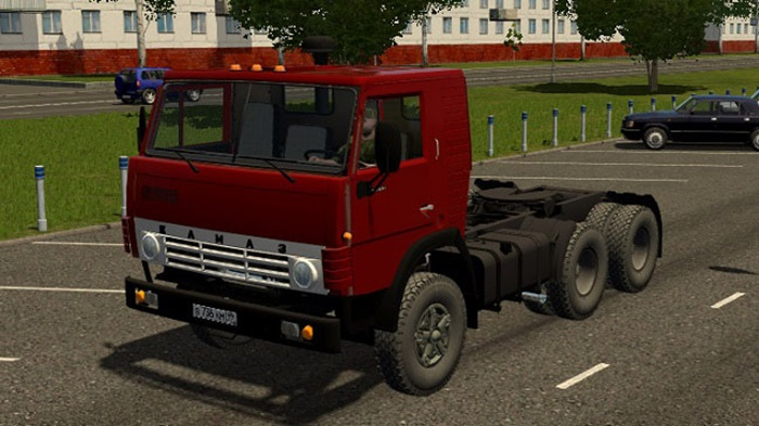 City Car Driving 1.5.9 – Kamaz-54112 Truck V1.1