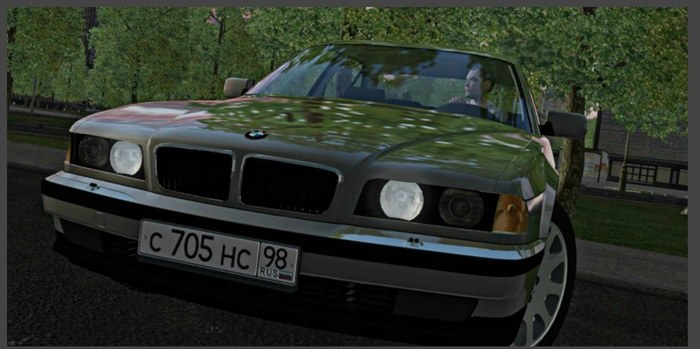 City Car Driving 1.5.9 – Bmw E38 725TDS