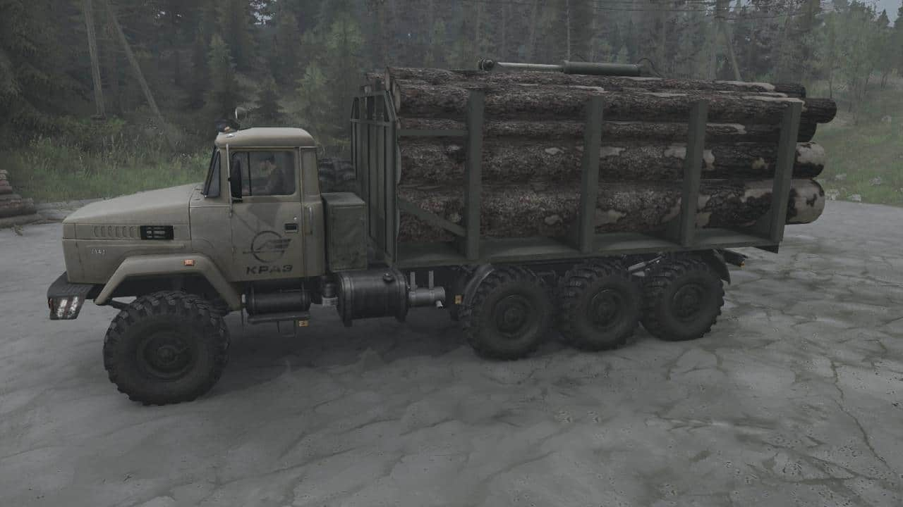Spintires:Mudrunner - KrAZ-7140H6 Truck V28.03.20