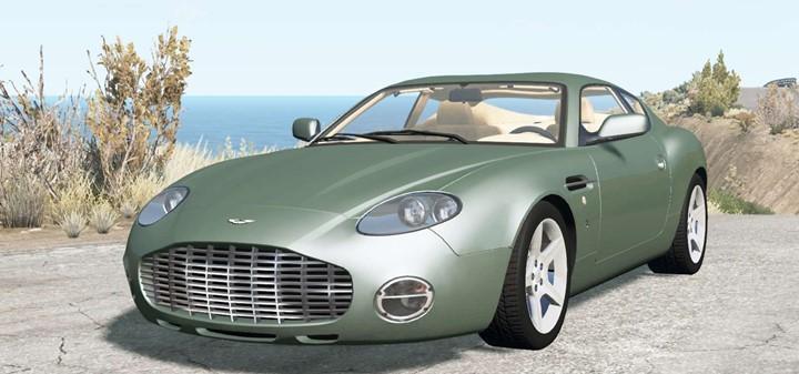 BeamNG - Aston Martin DB7 Zagato 2003 Car Mod