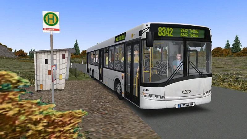 Omsi 2 – Solaris Scania K270 6×2 Bus