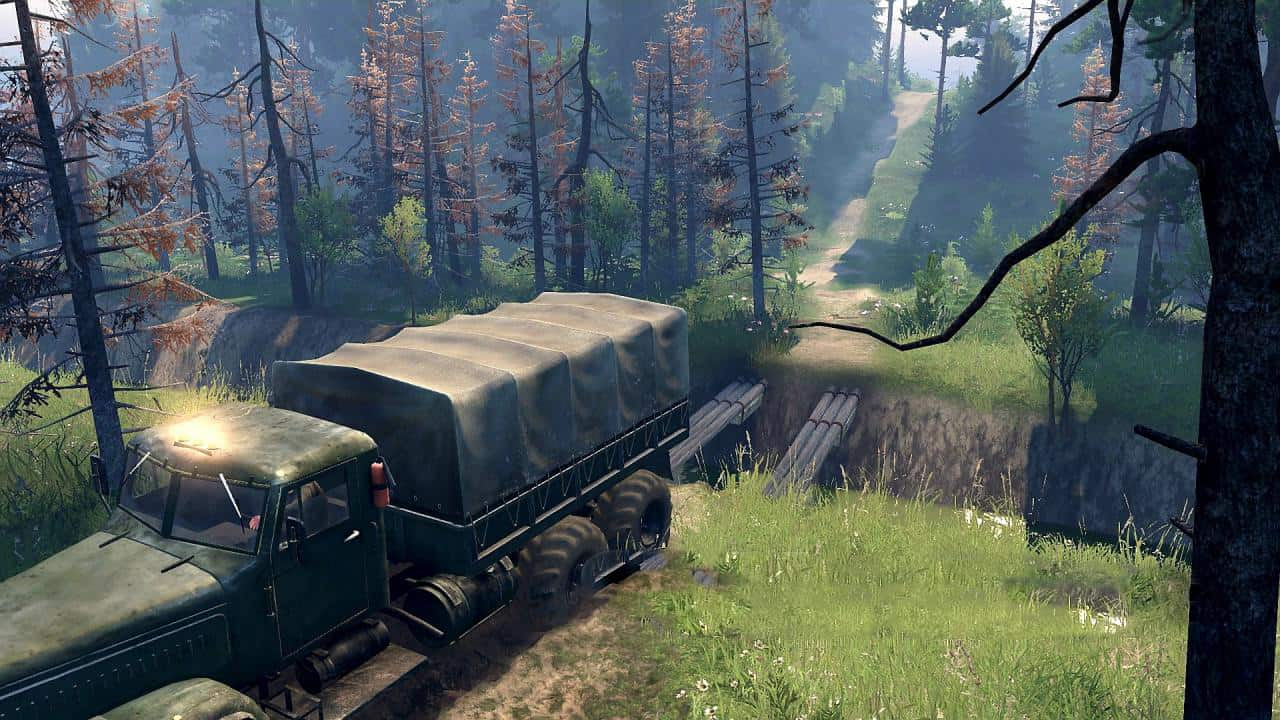 Spintires - The House of The Devil Map V1