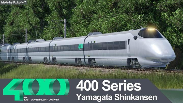 Transport Fever 2 - JREast 400 Series Shinkansen