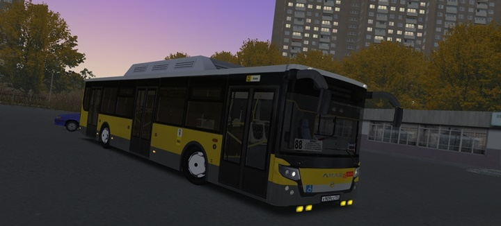 Omsi 2 – Collective Farm on LiAZ 5292.22 Bus