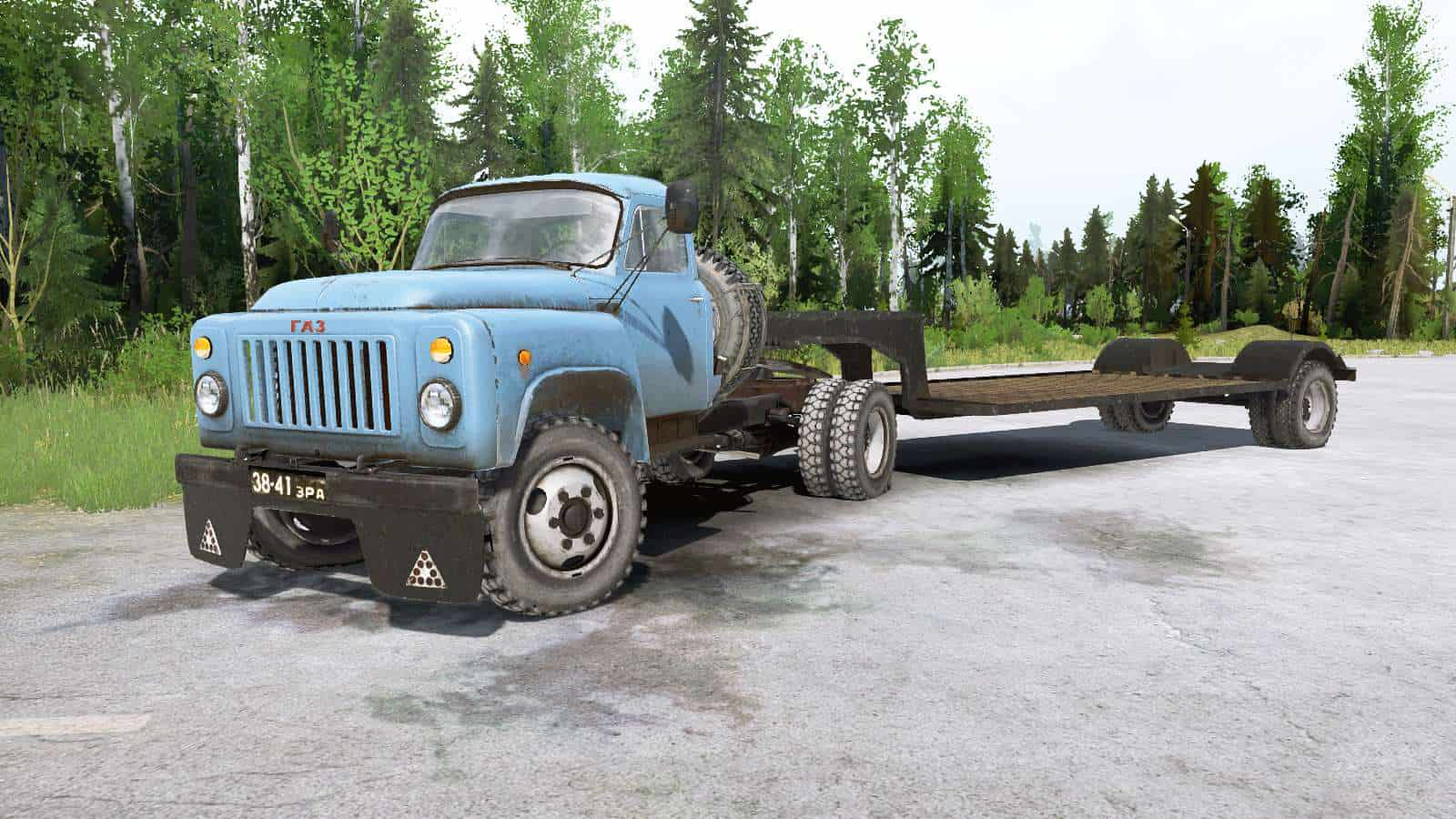 Spintires:Mudrunner - Gaz 53 Truck