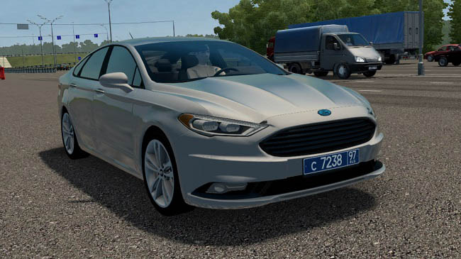 City Car Driving 1.5.9 - Ford Fusion 2017