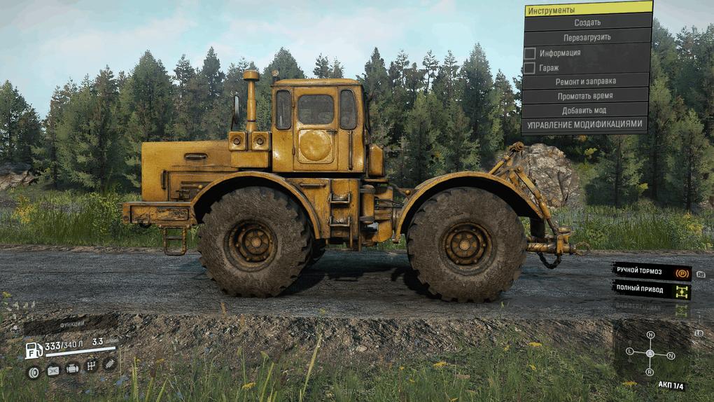 SnowRunner - K-700 Kirovec Tractor V11.06.20