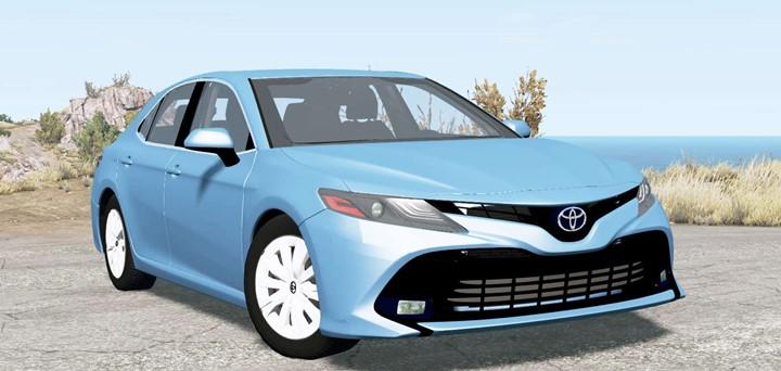 BeamNG - Toyota Camry (XV70) 2018 Car Mod