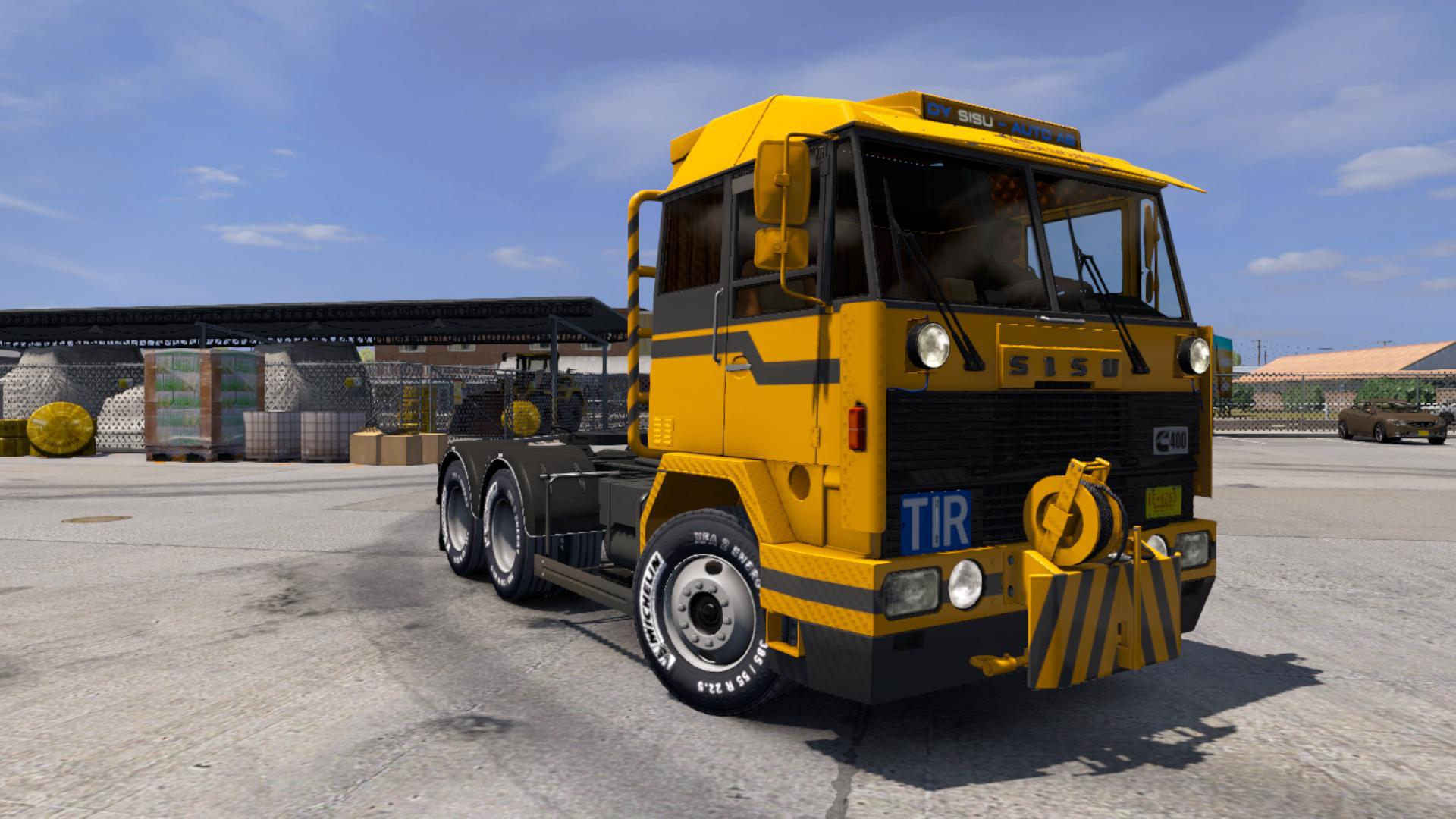ATS - Sisu M-Series Truck V1.1 (1.38.x)