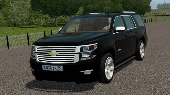 City Car Driving 1.5.9 - Chevrolet Tahoe 2015