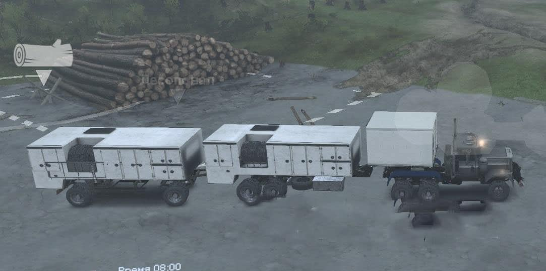 Spintires - Transforming Truck 10x10