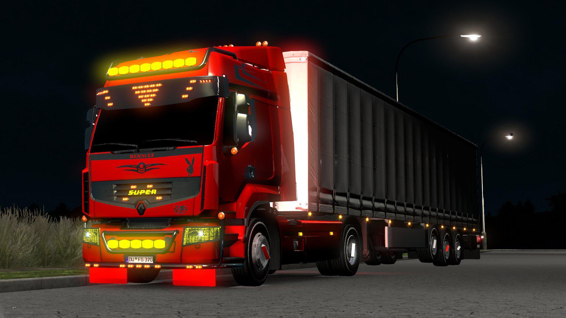 ETS2 - Renault Premium Truck (1.36.x)