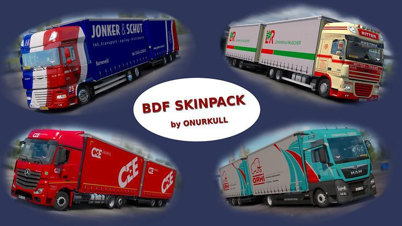 ETS2 - Bdf Skinpack V1.0 (1.35.X)