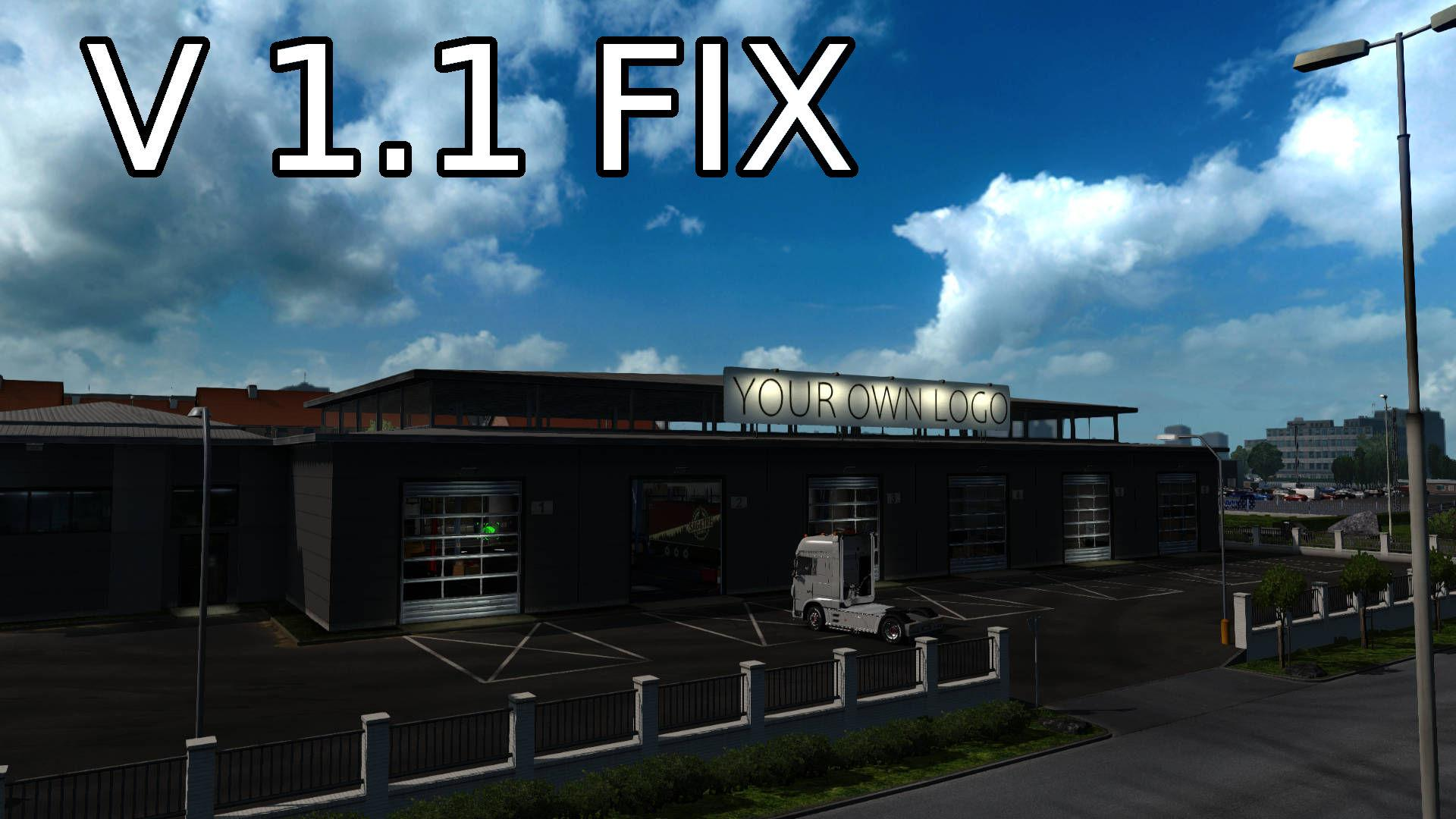 ETS2 - Your Own Garage V1.1 Fix (1.36.x)