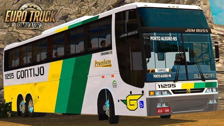 ETS2 - Busscar Jumbus 360 Bus (1.39.x)