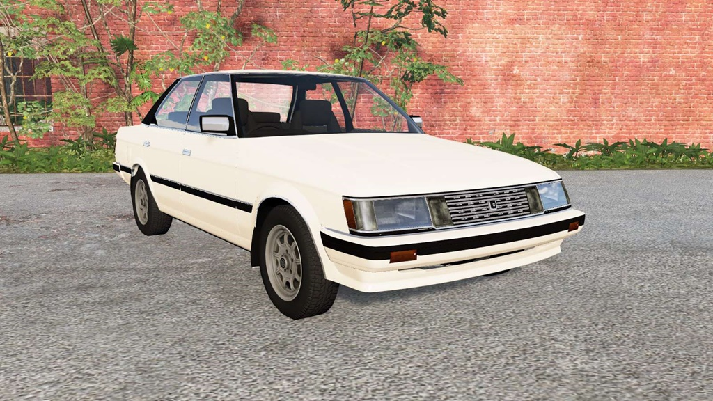 BeamNG - Toyota Mark II Hardtop Grande (X70) 1984 Car Mod