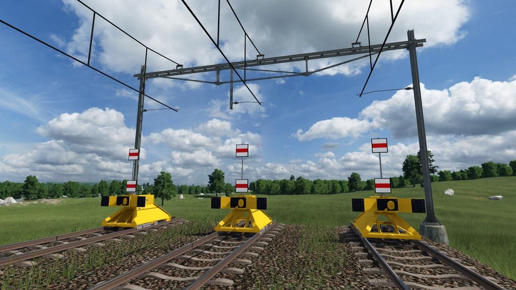 Transport Fever 2 - Dutch Track with B1 Catenary