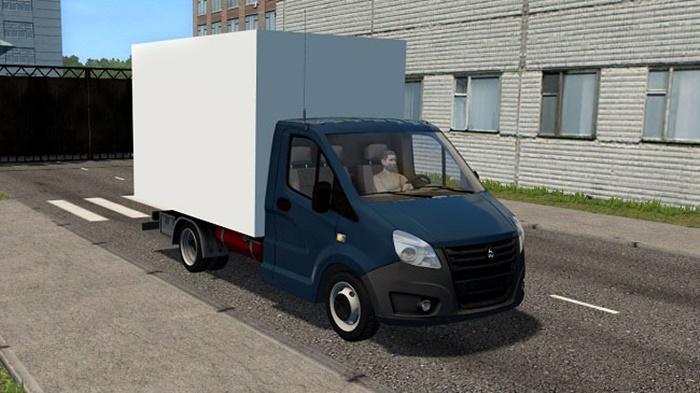City Car Driving 1.5.9 – Gazelle Next Truck