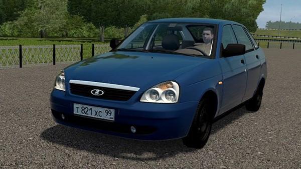 City Car Driving 1.5.9 - Lada Priora Hatchback