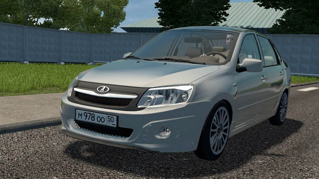 City Car Driving 1.5.9 - Lada Granta Sport (Sound)