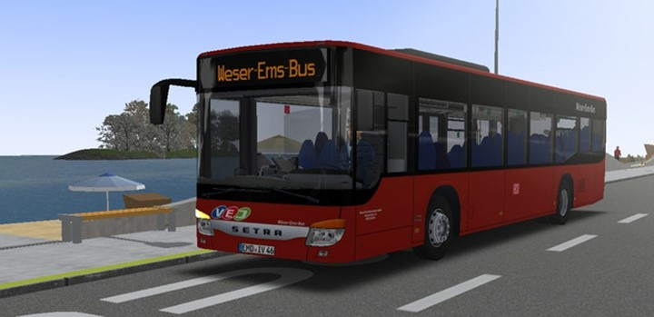 Omsi 2 - Setra 415 NF Bus Mod V2.0