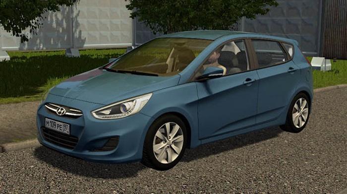 City Car Driving 1.5.9 – Hyundai Solaris Hatchback