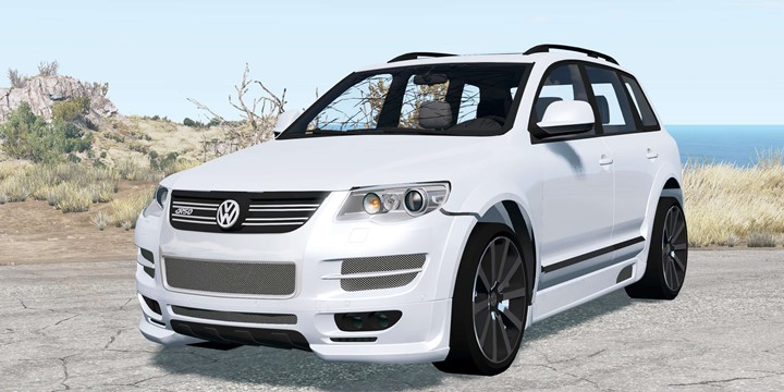BeamNG - Volkswagen Touareg R50 (Typ 7L) 2007 V1.1