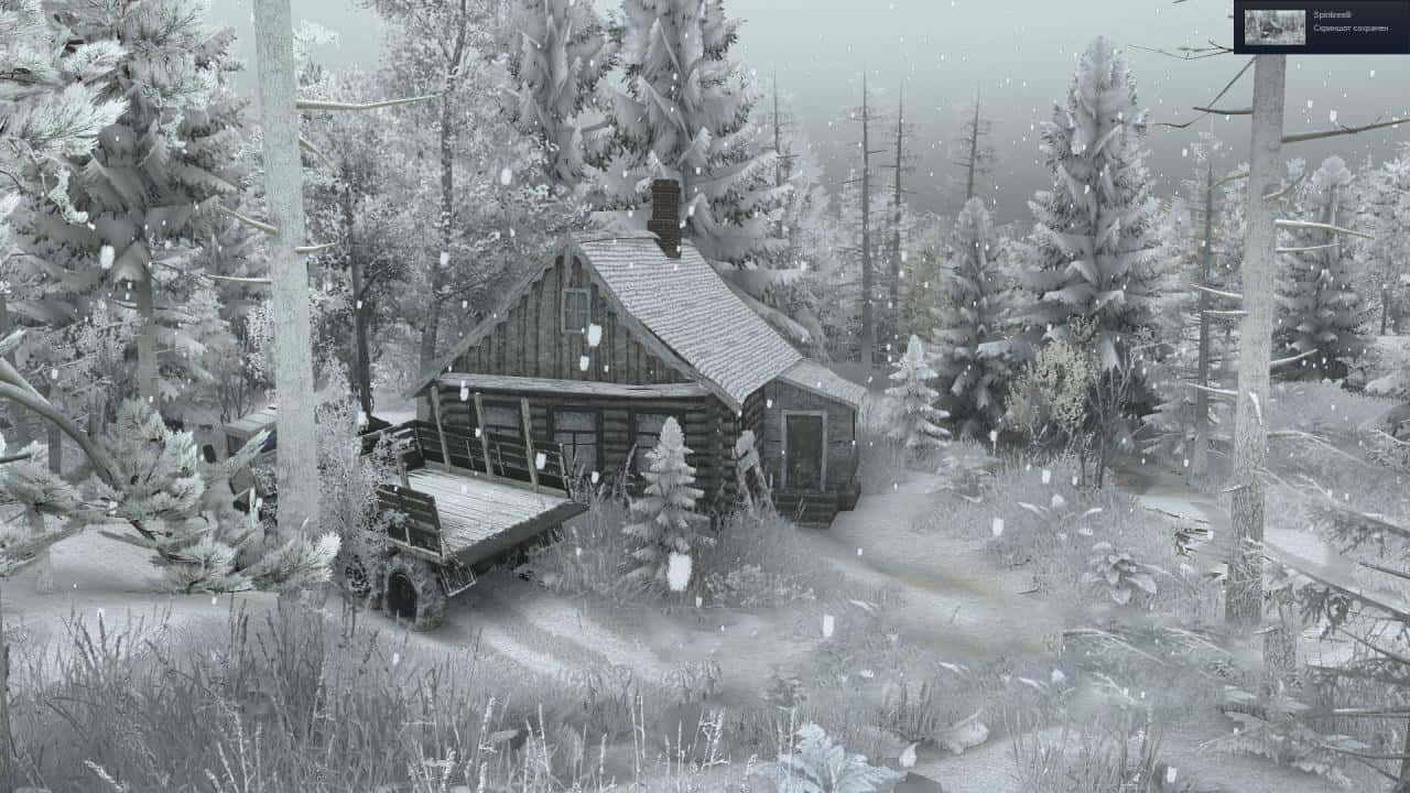 Spintires - Winter Mod with Automatic installation V1.0