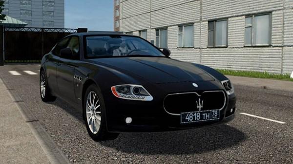 City Car Driving 1.5.9 - Maserati Quattroporte Sport GT-S 2011