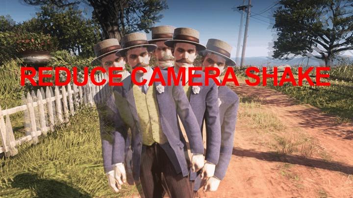 RDR2 - Reduce Camera Shake