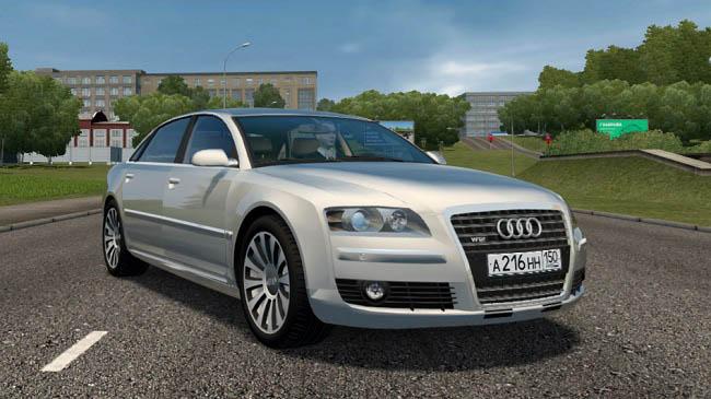City Car Driving 1.5.9 - Audi A8 D3 6.0 Long Quattro