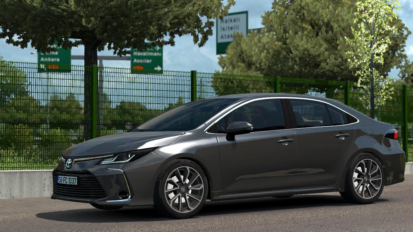 ETS2 - Toyota Corolla 2020 V1R30 (1.37.x)