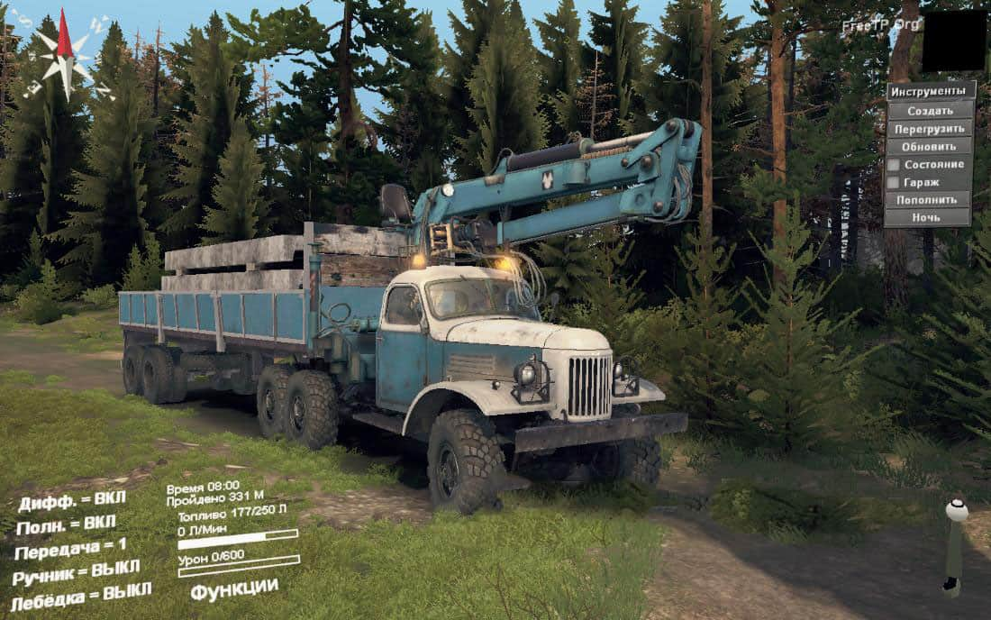 Spintires - Zil 157 Chernobyl Guards V1.4