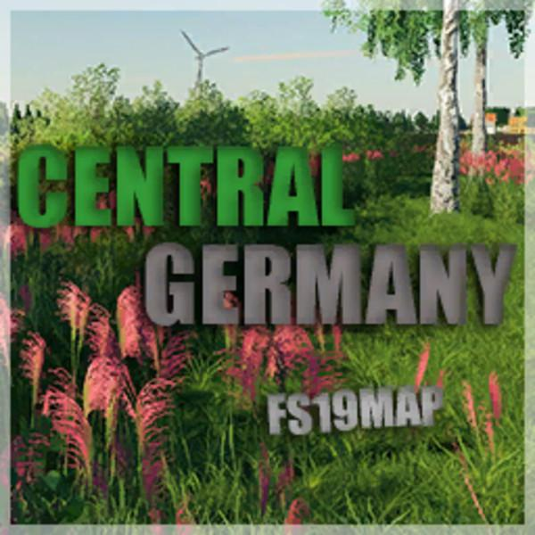 FS19 - Central Germany Map V1.0
