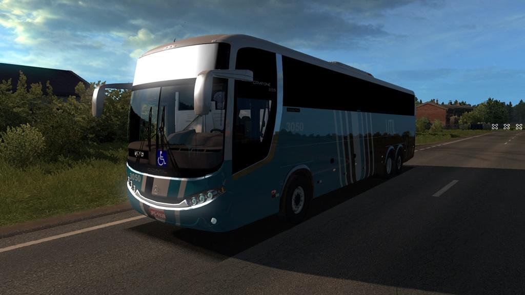 ETS2 - Comil Campione 3.65 Mercedes Bus Mod V4.0 (1.36.x)