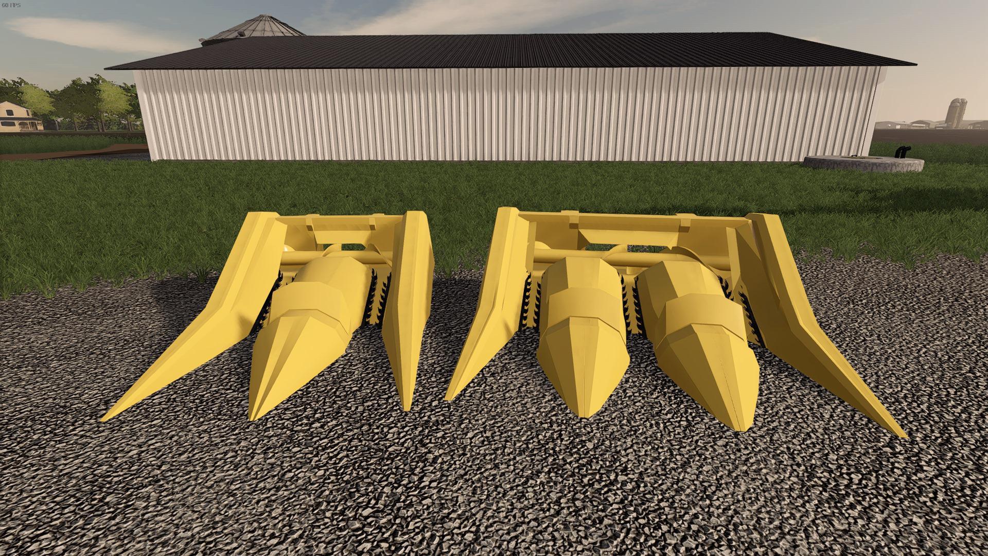FS19 - Pulltype Earlage Headers V1.0