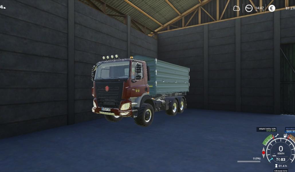 FS19 - Tatra E6 8x8 Truck V1.0