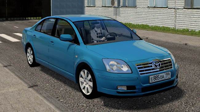 City Car Driving 1.5.9 - Toyota Avensis 2.0 D4-D