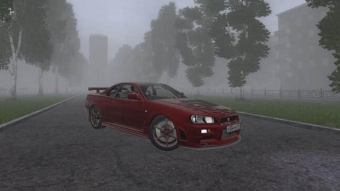 City Car Driving 1.5.9 - Nissan Skyline GTR V Spec II (R34)
