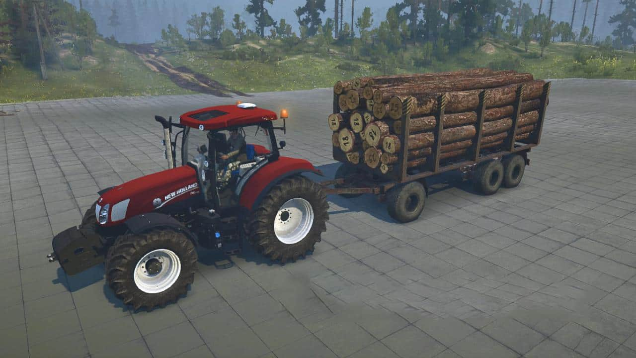 Spintires:Mudrunner - New Holland T6.175 Fiatpower (Special Limited Edition) V1.0