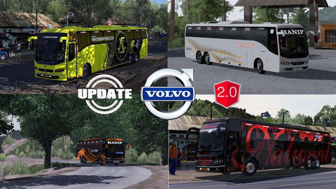 ETS2 - Volvo B9R I-Shift Multiaxle Update V2.0 (1.39.x)