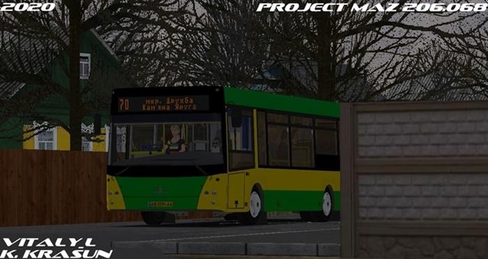 Omsi 2 – Maz 206.068 Bus V1.0