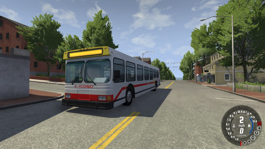 BeamNG - Wentward ET40L Bus Mod V0.9