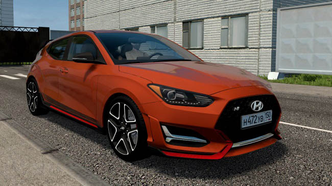 City Car Driving 1.5.9 - Hyundai Veloster N 2019